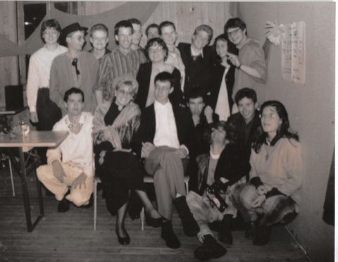My high school (Gymnasium) class just after the Matura