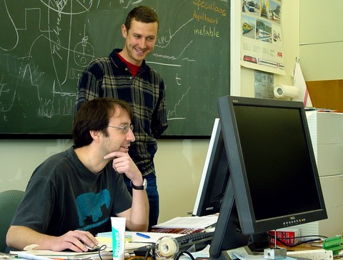 Doing Rocket Science with Ralf in 2004