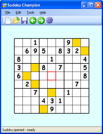 A screenshot of Sudoku Champion